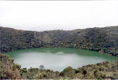 Laguna sagrada de Guatavita (Diosa de la sabiduría)