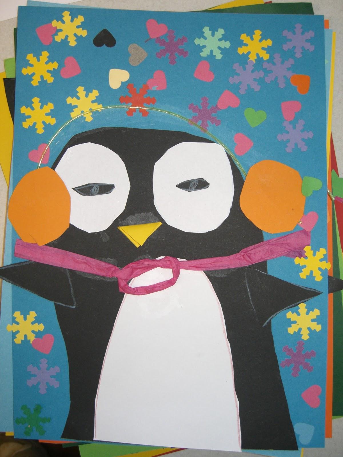 Pinguin-Malerei, Grafik herunterladen Ausmalbilder