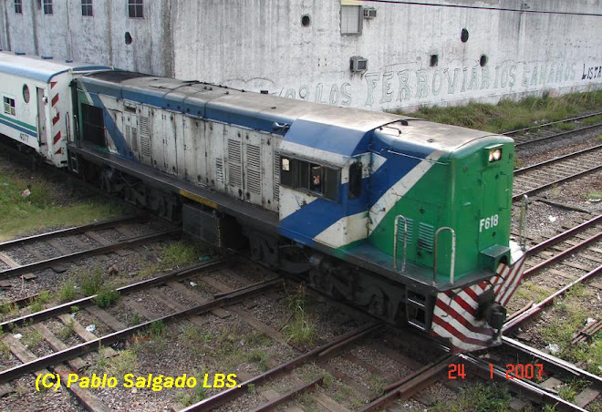 F 618 POR EL CRUCE BONZI - TAPIALES