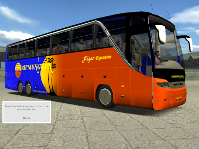 18wosHAULIN INDONESIA: SETRA 417 HDH INDONESIAN (HAULIN)
