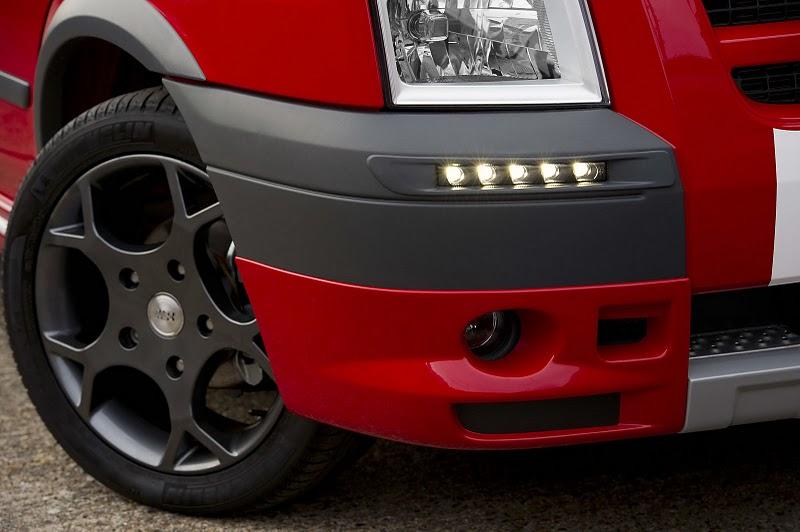 2010 Ford Transit SportVan Red