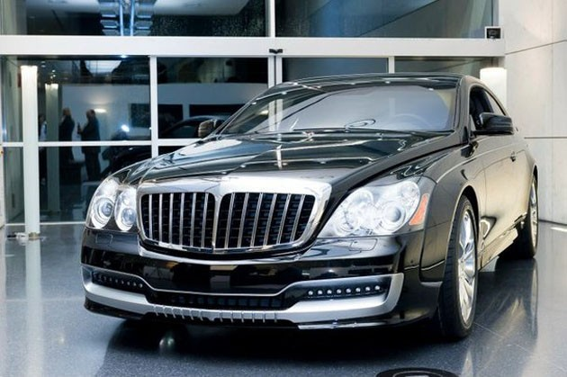 2011 xenatec maybach cruiserio front view 2011 Xenatec Maybach Cruiserio