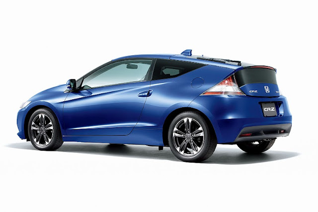 2011 honda cr z hybrid memorial award edition rear side view 2011 Honda CR Z Hybrid Memorial Award Edition