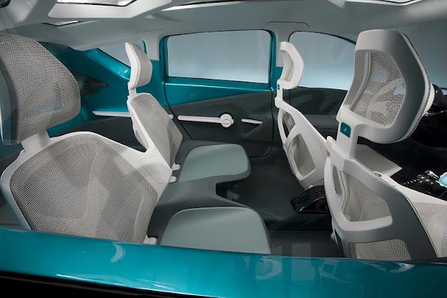 2011 toyota prius c concept seats view 2011 Toyota Prius C