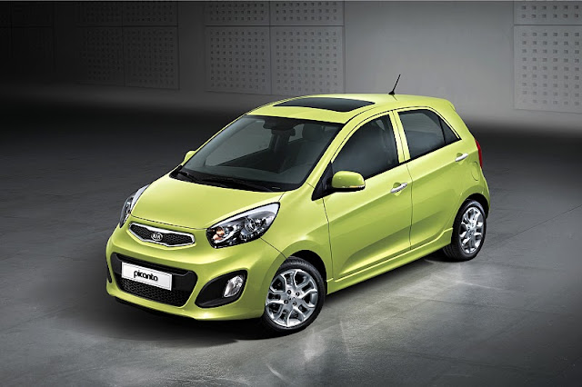 2012 kia picanto front side top view 2012 Kia Picanto