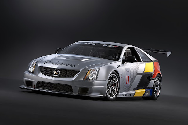2011 cadillac cts v coupe race car front angle view 2011 Cadillac CTS V Coupe Race Car