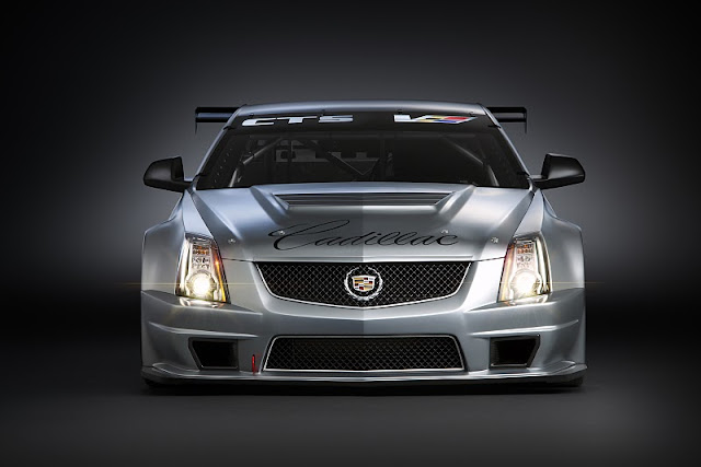 2011 cadillac cts v coupe race car front view 2011 Cadillac CTS V Coupe Race Car