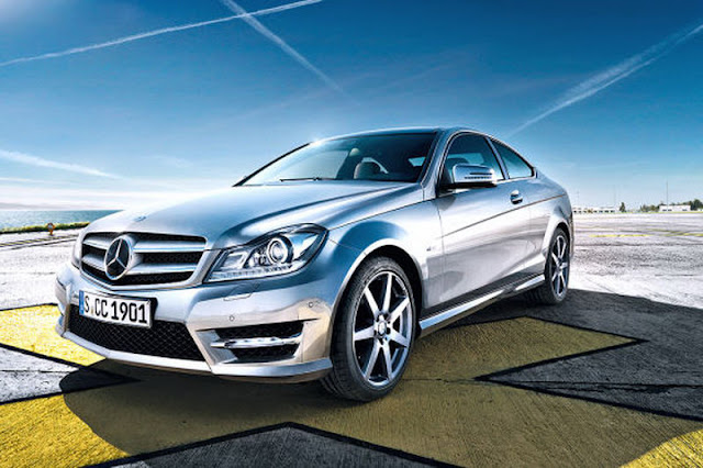 2012 mercedes benz c class coupe front angle view 2012 Mercedes Benz C Class Coupe