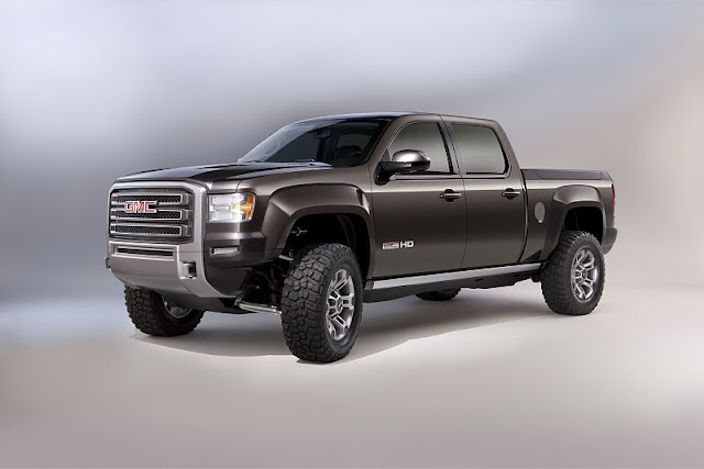 2011 gmc sierra all terrain hd concept front angle view 2011 GMC Sierra All Terrain HD
