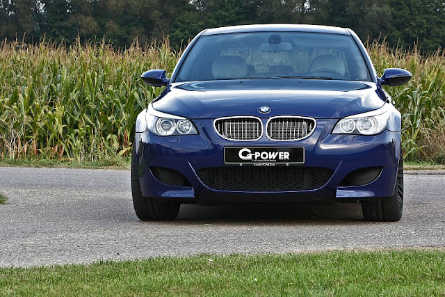 2011 g power bmw m5 hurricane gs front view 2011 G Power BMW M5 Hurricane GS