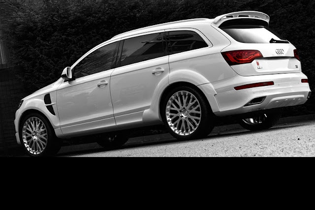 2011 project kahn audi q7 rear angle view 2011 Project Kahn Audi Q7