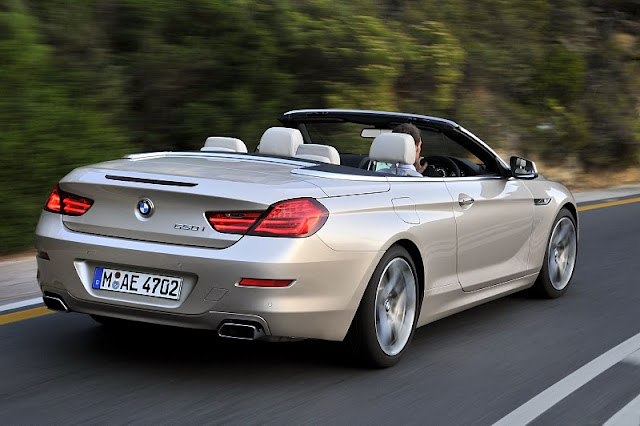 2012 bmw 6 series convertible rear side view 2012 BMW 6 Series Convertible