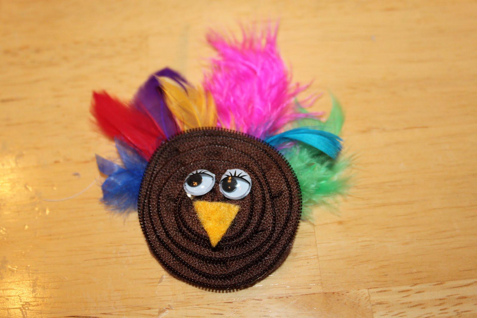 how to make a turkey headband