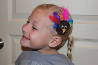 gift presents for kids: turkey headband tutorial
