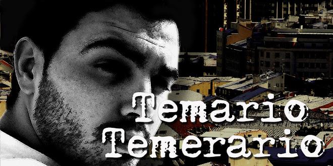 TEMARIO TEMERARIO