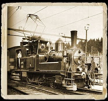 Oil Electric The Electro Steam Locomotive