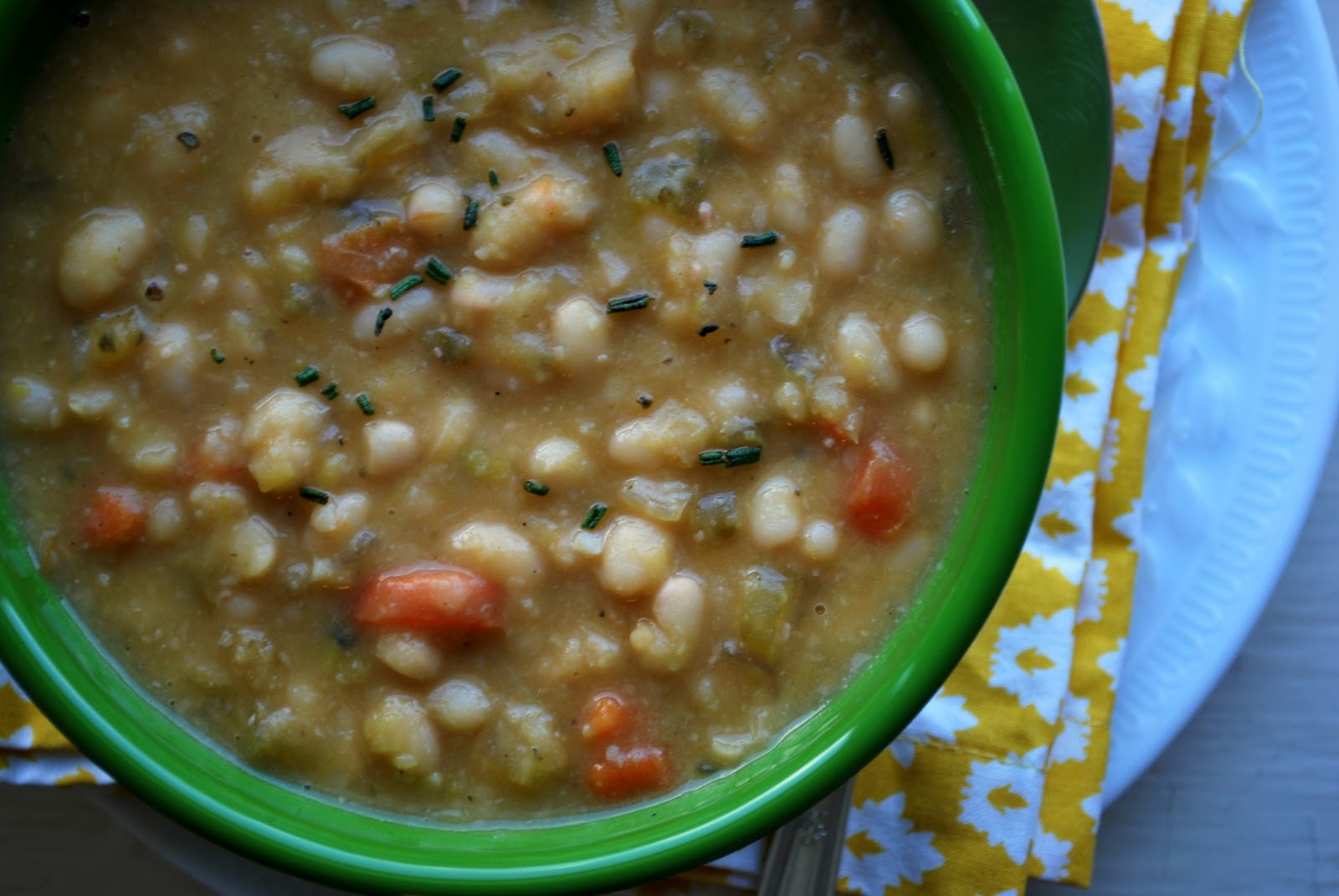 soup 30 minute tuscan white bean soup tomato white bean bacon soup ...