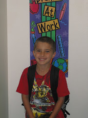 Porter's first day of 2nd GRADE
