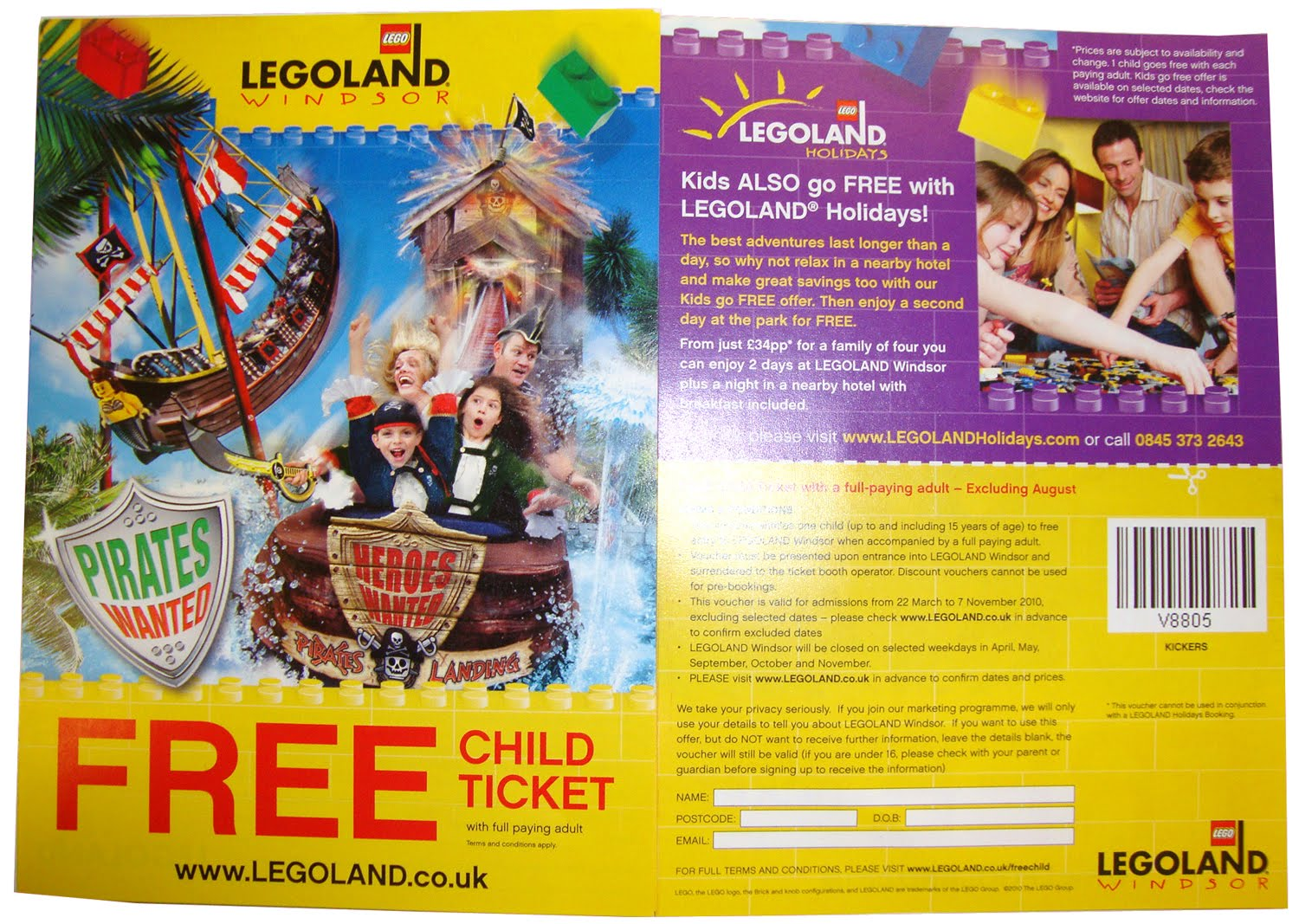 LEGOLAND ® Windsor Resort is one for all Lego fans and anyone who enjoys an entertaining day out. Save money when booking your day out by using one of our LEGOLAND ® Windsor Resort voucher codes. Fun for all the family; choose from shows, rides, displays and labyrinths.