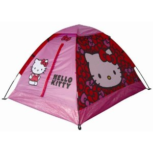 As you already know if youu0027ve read our Build a Bear Workshop review Juliette absolutely loves Hello Kitty. You can therefore imagine how excited she was ...  sc 1 st  Madhouse Family Reviews - Blogspot & Madhouse Family Reviews: Hello Kitty Dome Tent