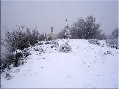 Bella estampa nevada de Itxogana