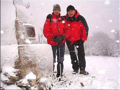 Itxogana mendiaren gailurra 1.062 m. - 2010eko urtarrilaren 30ean
