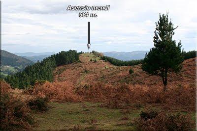 Ya divisamos la cruz de Asensio mendi