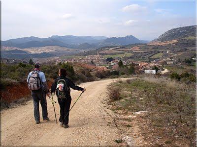 Llegando a Buradon Gatzaga