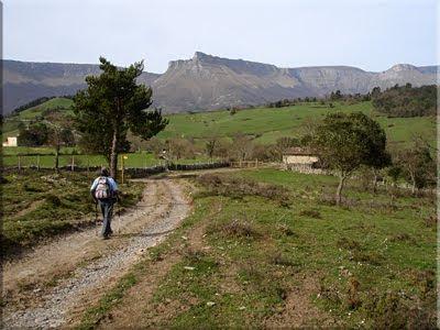 Bella vista de Tologorri en la Sierra Garobel