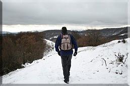 Caminando por la cresta de Arraialde