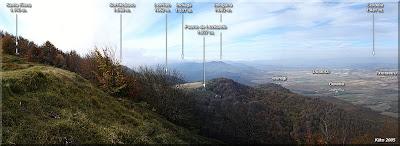 Panorámica desde la cima año 2005