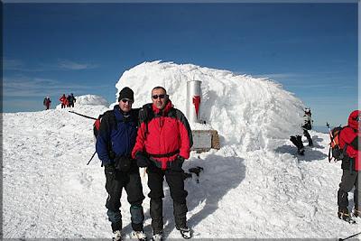 Moncayo mendiaren gailurra 2.315 m. - 2008ko abenduaren 20an