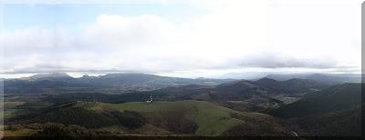 Panorámica desde Arralde