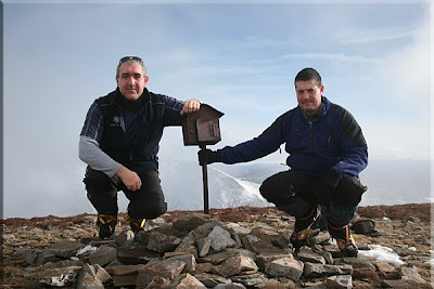 Salineros mendiaren gailurra 2.099 m. - 2009ko urtarrilaren 3an