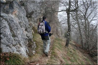 Farallones de la Peña del Santo camino a La Casilla