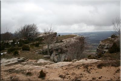 Farallones de Atxartea, zona de escalada