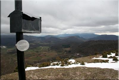 Soila y Muela, entre otros, vistos desde la cima