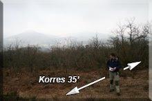 ... a la izquierda se vuelve a Korres