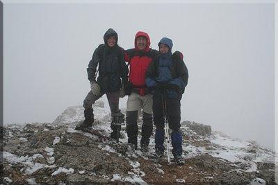Recilla mendiaren gailurra 1.381 m.  -  2009ko martxoaren 28an