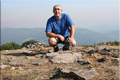 Oketa mendiaren gailurra 1.031 m.  --  2009ko abuztuaren 19an
