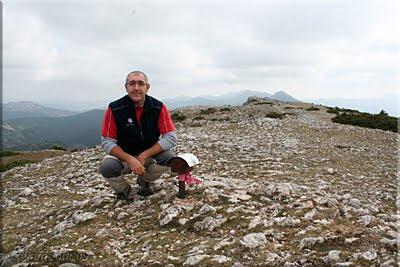 Vallegrull mendiaren gailurra 1.226 m.  -  2009ko irailaren 26an
