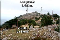 Arrayuelas desde el Portillo La Sierra