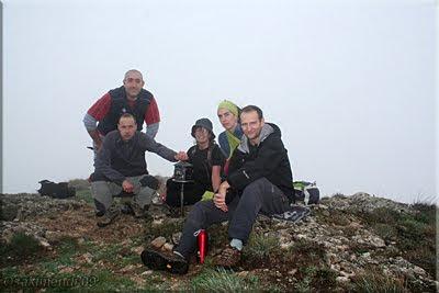 Recilla mendiaren gailurra 1.381 m.  -  2009ko urriaren 11an
