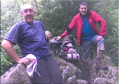 Jaunden mendiaren gailurra 1.035 m. - 2010eko uztailaren 4an