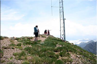 Cima del Pic de Sesques, 2.606 m.