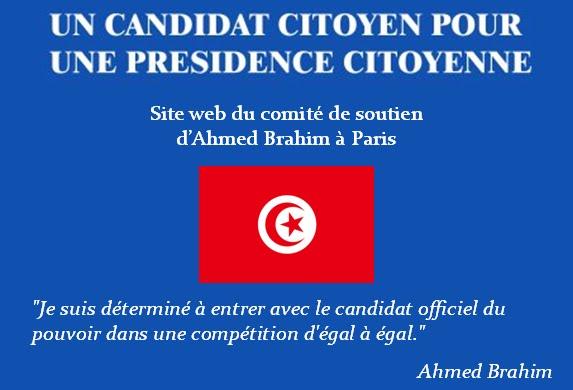 Soutien à Ahmed Brahim