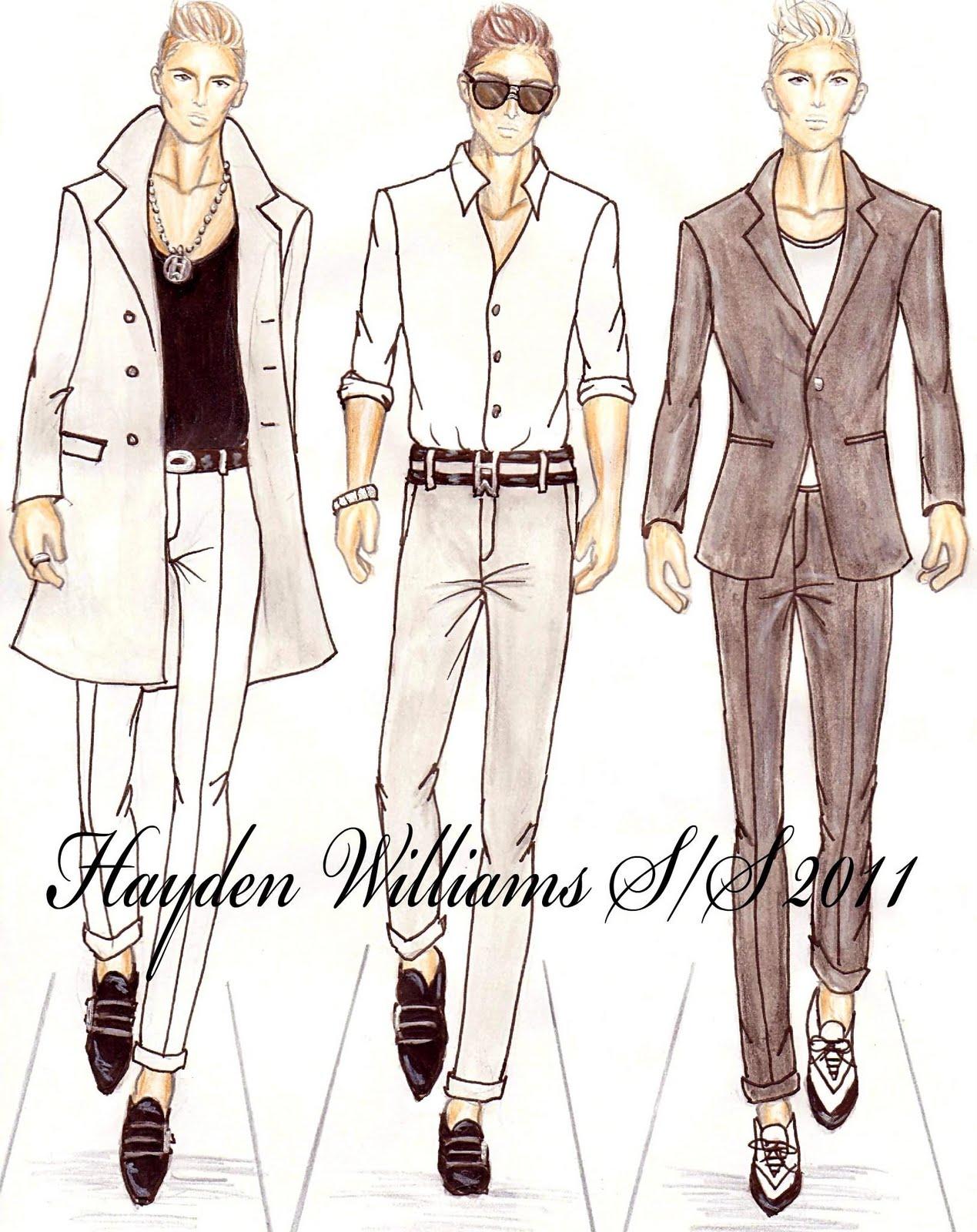 Men fashion illustration - photo#28