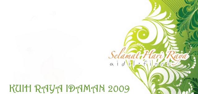 Kuih Raya Idaman 2009