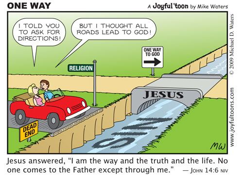 Theology And Counseling Get It Right Only One Road Leads To Heaven