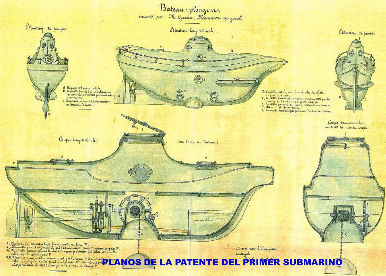 Alicante Y El Primer Submarino De La Historia